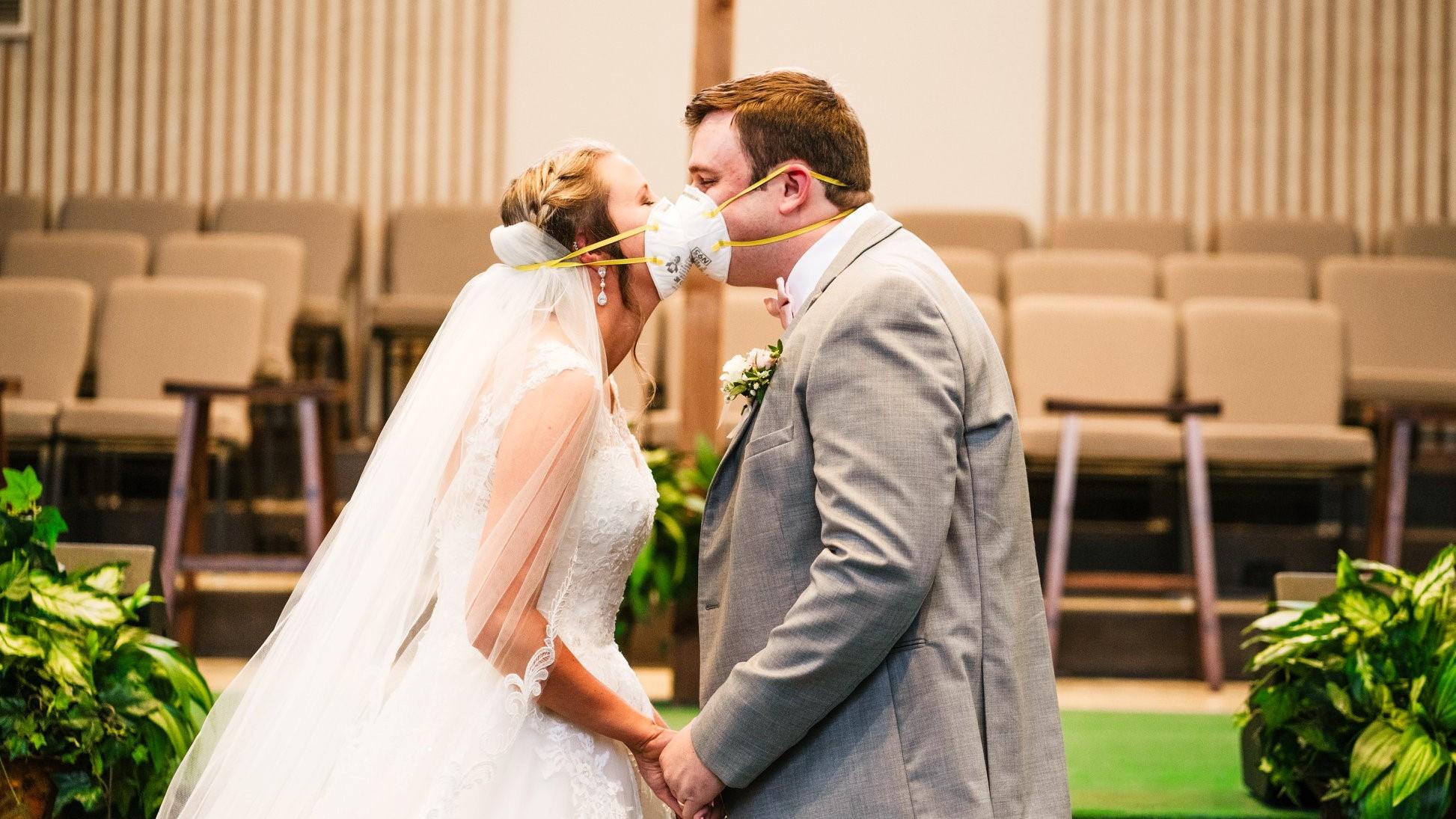 Nuntă în vremea pandemiei